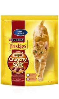 Ennennäkemätön uutuus: Tilaa ilmainen Friskies Crunchy & Soft -näyte kissallesi!