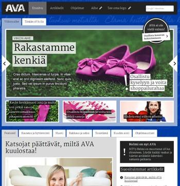 Helmi ja AVA yhdistyvät 22.8. – tule mukaan luomaan uutta kanavaa!